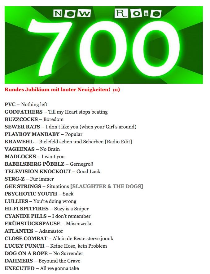 NEW ROSE PUNK ROCK RADIO