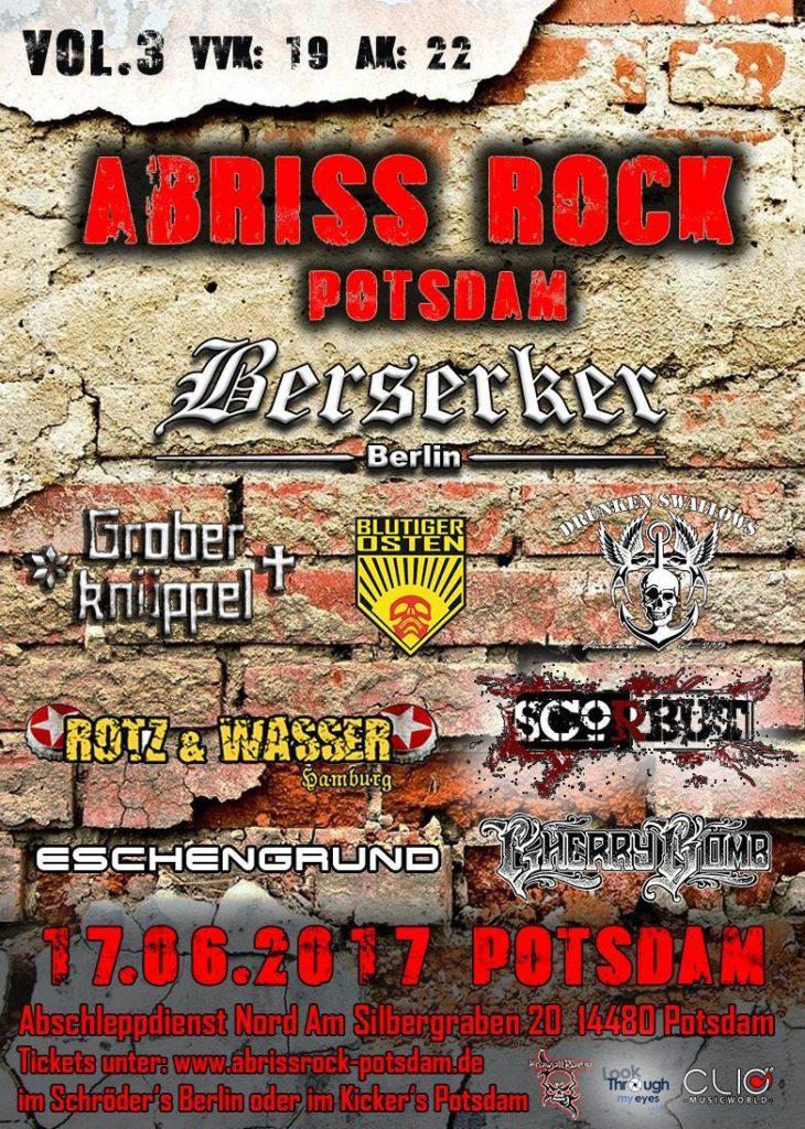 ABRISS ROCK POTSDAM!
