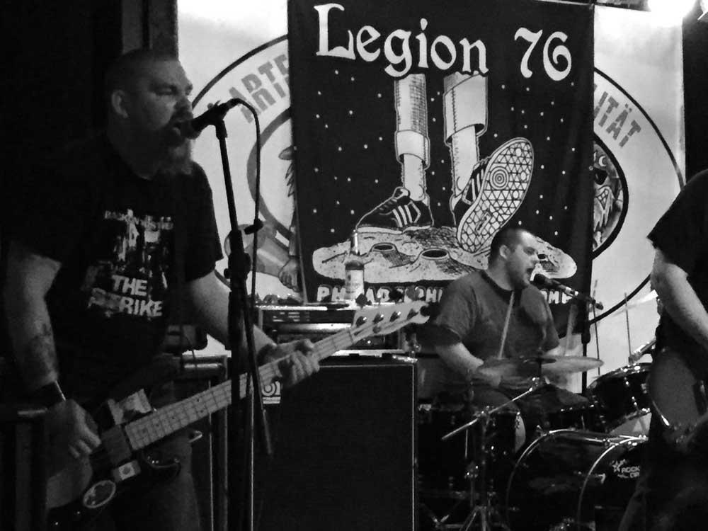 UPPERCUTS, LEGION 76 + ARCH REVILS: STILECHT IM STEELBRUCH!
