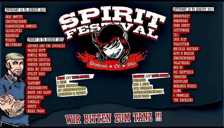 Spirit-Tagesplan