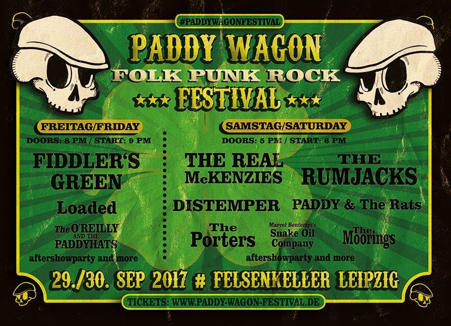 PADDY WAGON FESTIVAL!