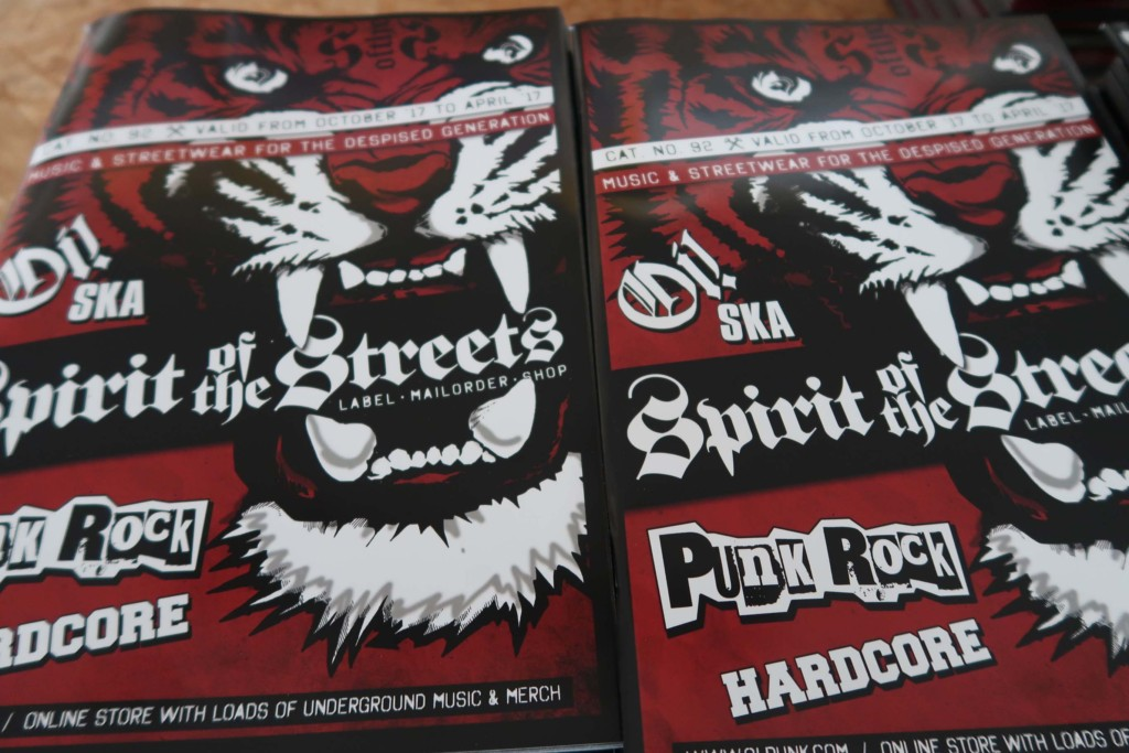SPIRIT OF THE STREETS MAILORDER-KATALOG # 92!