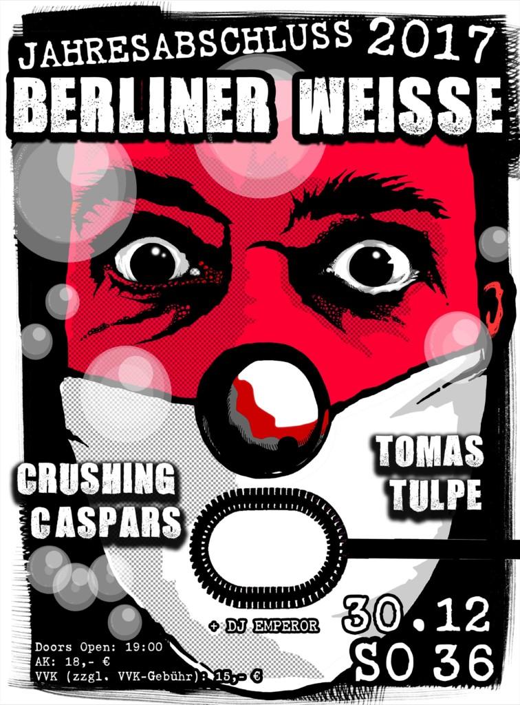 BERLINER WEISSE JAHRESABSCHLUSS!