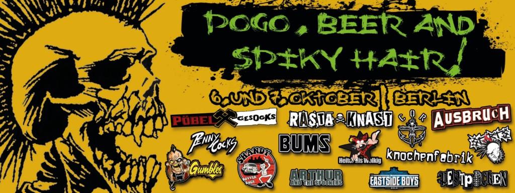 POGO, BEER & SPIKEY HAIR!