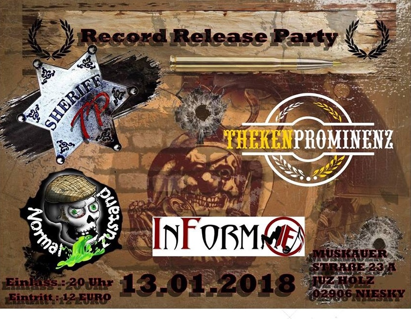 THEKENPROMINENZ RECORD RELEASE PARTY!