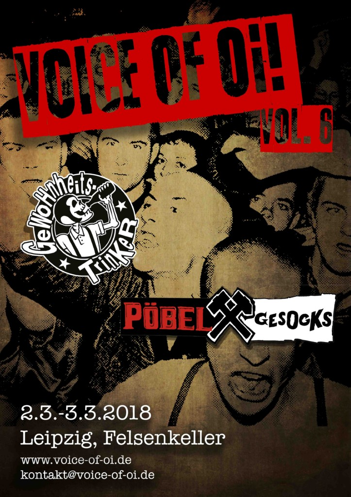 VOICE OF Oi! VOL. 6 FESTIVAL!