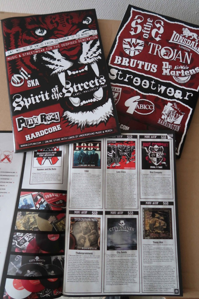 SPIRIT OF THE STREETS MAILORDER KATALOG!