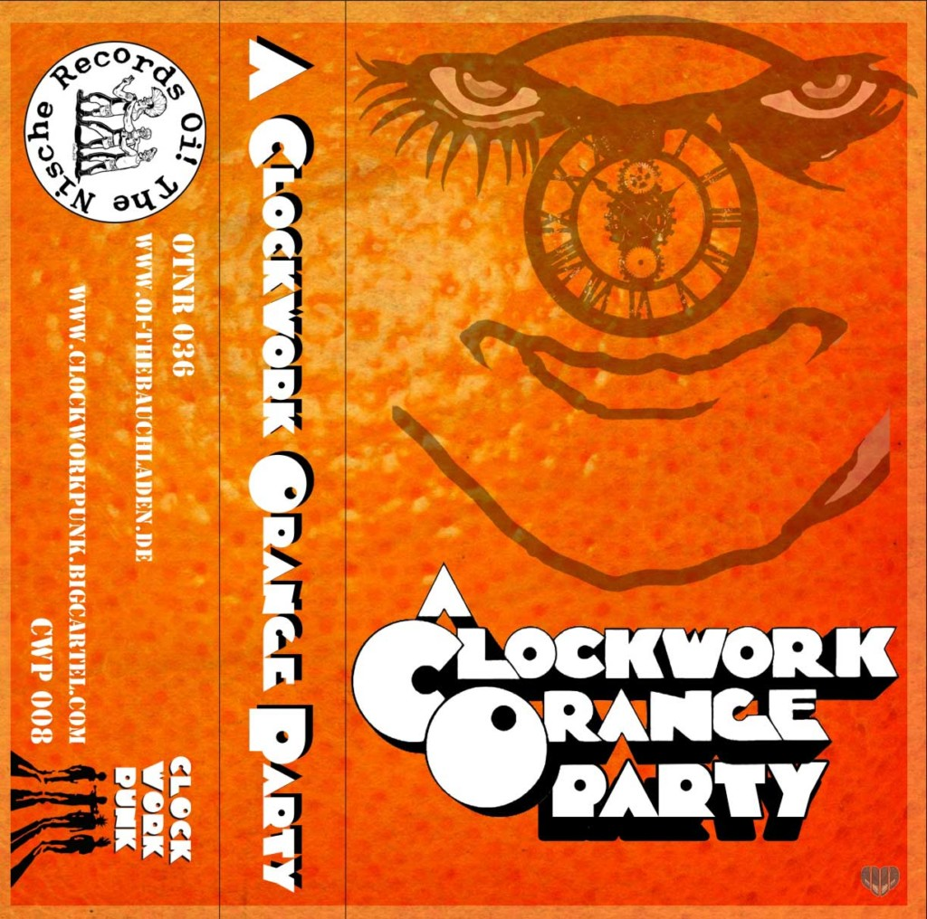 A CLOCKWORK ORANGE PARTY!