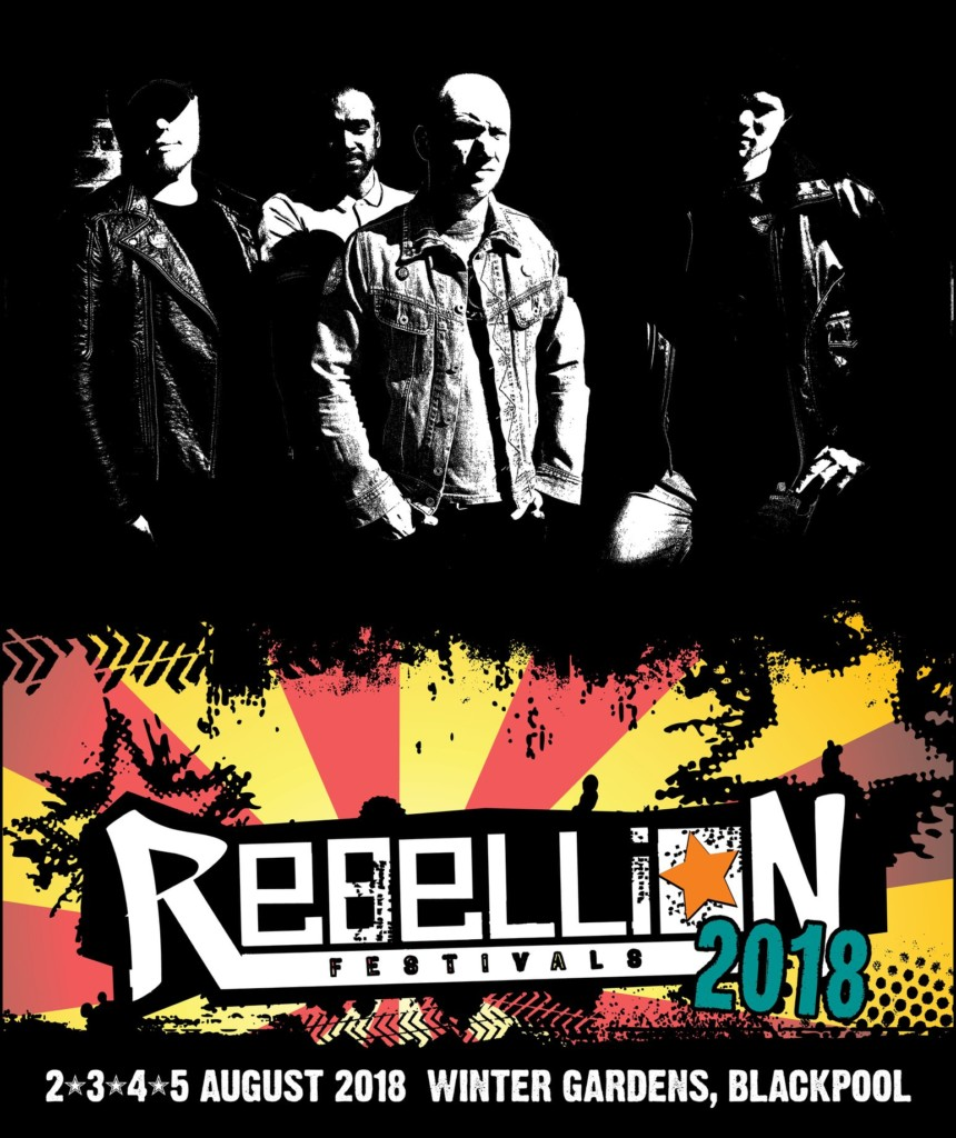 CITY SAINTS BEIM REBELLION FESTIVAL!